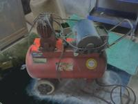 I have a 22gal 150 PSI Portable Air Compressor. The