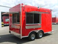 BRAND NEW FOOD CONCESSION TRAILERS AT THE BEST PRICE.