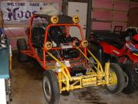 Sand Rail Farm Field Dune Buggy Turbo Charged Corvair