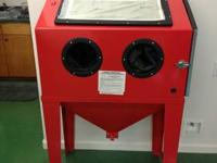 Up for sale is brand new floor sand blast cabinet