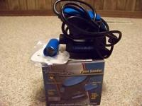 BRAND NEW NEVER USED POWER GLIDE PALM SANDER, COMES
