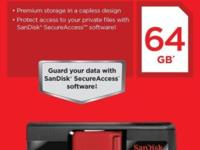 SanDisk 64GB Flash Drive (Like Pictured) Package