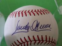 Sandy Alomar, Sr. Baseball autograph - Teams - Braves /