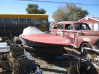 1972 20 foot Sanger flatbottom boat with Chevy 468