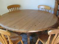 Beautiful sankheda dining table with six matching
