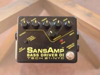 For sale: a Sansamp Bass Driver DI. The unit is in