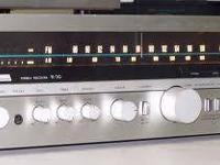 this vintage receiver was made before remote controls