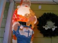 1994 Electric Sunhill Santa Claus Holding a Sack
