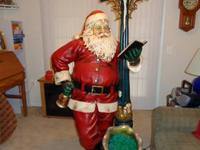 This jumbo Santa Claus decoration is ideal for