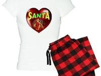 Santa Heart T-shirts, Sweatshirts, Hoodies, Gifts & &