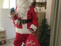 Very nice corduroy santa suit. Includes: XL pants XL