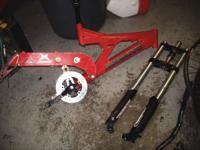 santa cruze mountain bike parts call  if no answer