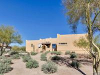 This Santa Fe home is on 3.6 acres, that include two