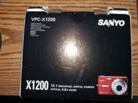 Sanyo 3X Optical Zoom, Li Ion (Battery Charge) Anti