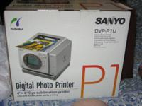 Sanyo DVP-P1U Photo Printer NEW   Sell for $ 223.50