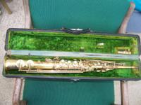 Conn gold plated Saprano Saxaphone The type used by