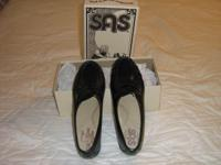 SAS shoes, size 9 ½ Medium, Classic Black, genuine