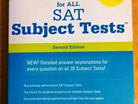 The Official Study Guide for All SAT Topic Tests, 2nd