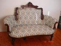 Sattee Set,Upholstered In 60's,Circa About 1700,Exc