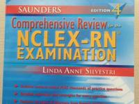 NCLEX review books for sale!  1) Saunders Comprehensive