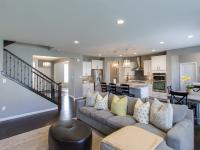 Exquisite custom home with high end finishes top to