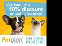 Animal Type: Save 10 percent on Pet Health Insurance