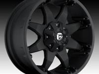 Set of 4 Tires and Rims Interco Vortrac Tires 35x