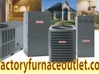 Lots of kinds & sizes of Heat Pumps, Furnaces and Air