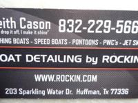 Experienced old boat detailer will shine your boat. I