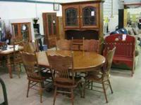 We have a huge variety of used furniture always in