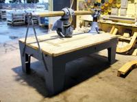 "ADE Sawhelper miter saw stand with 55"" and 84"""