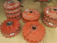 13 sprockets ,,,,7 pcs are 19 tooth,,,,6 pcs are 17