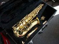 LIKE NEW ALPINE WOODWINDS INC DEHAN SAXAPHONE PRICED TO