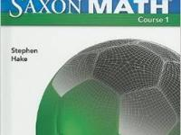 Topic: Education and Training Type: Mathematics SAXON