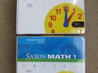 Saxon Math Teachers Edition Volume 1& 2 for Grade 1 -