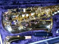 For sale $274.00....a J Michael alto sax in like new