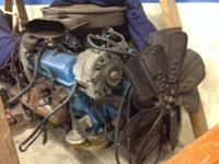 COMPLETE Chevrolet 305 with TH350.  Low milage engine &
