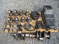 I have left over parts from some Chevy 350 engines I