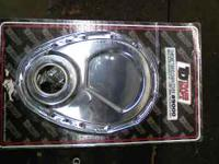 trans dapt chrome timting cover with seal and gasket