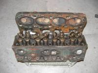 Little Block Chevy cyndrical tube heads. Casting No.