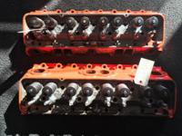 CHEVROLET SMALL BLOCK CYLINDER HEADS DOUBLE HUMPS