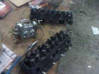 350 Chevy Double Hump Heads Ones been Ported and