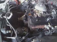 complete running motor out of 87 monte carlo ss no