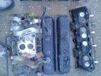 I have Good used 5.7 l tbi cylinder heads with valve