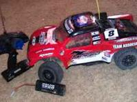 The Sc10 is brushless has been driven 3 times comes as