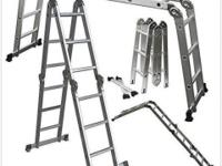 Product Description: This OxGord multi-purpose ladder