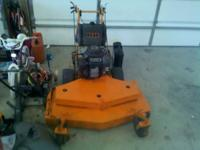 I have a scag 48inch commercial mower with a 20hp