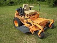 "Scag Turf Tiger 52"" deck with 911 hrs and a 22hp liquid"