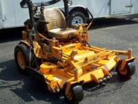"I am selling my Scag Turf Tiger. It has a 61"" veloicty"