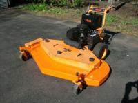 Super Wide 72 Walkbehind mower Scag, Great shape, will